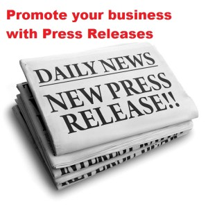 Promote local business with Press Releases
